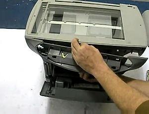 Fix HP 3300 3330 Scanner Bulb Warm Up Error (12)