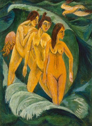 'Three_Bathers',_oil_on_canvas_painting_by_Ernst_Ludwig_Kirchner,_1913,_Art_Gallery_of_New_South_Wales.jpg