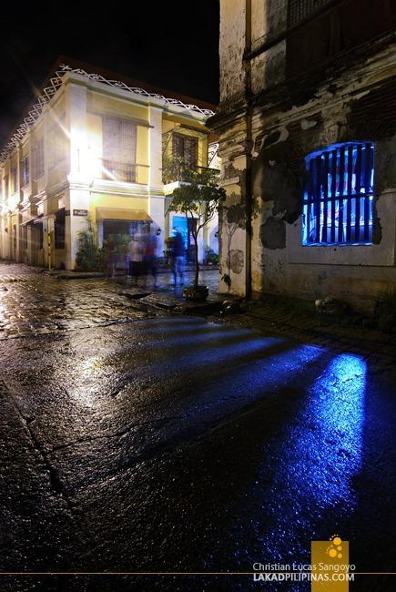 Calle Crisologo at Vigan