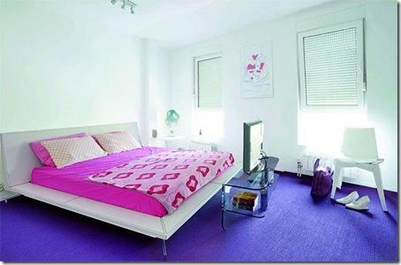 Karim Rashid bedroom