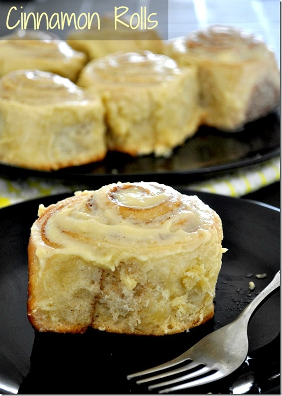 Cinnamon Rolls