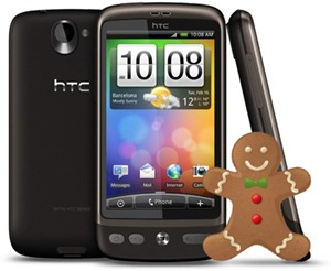 HTC Desire Firmware Update Gingerbread arriving at the end of July