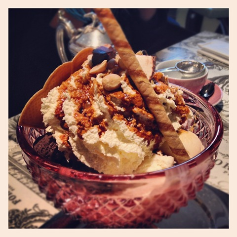 #114 - Fortnum & Mason icecream sundae