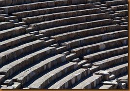 Ephesus, theatre seats