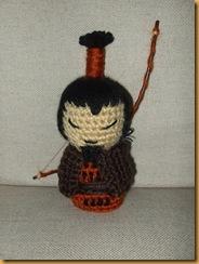 amugurumi samurai samukoke