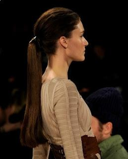 Ponytail - a classic choice, several kinds of behavior