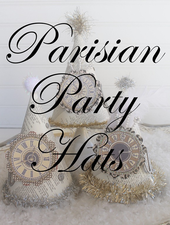 parisian party hats 145