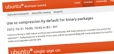 Ubuntu 13.04 e l'idea di passare alla compressione XZ per i pacchetti deb