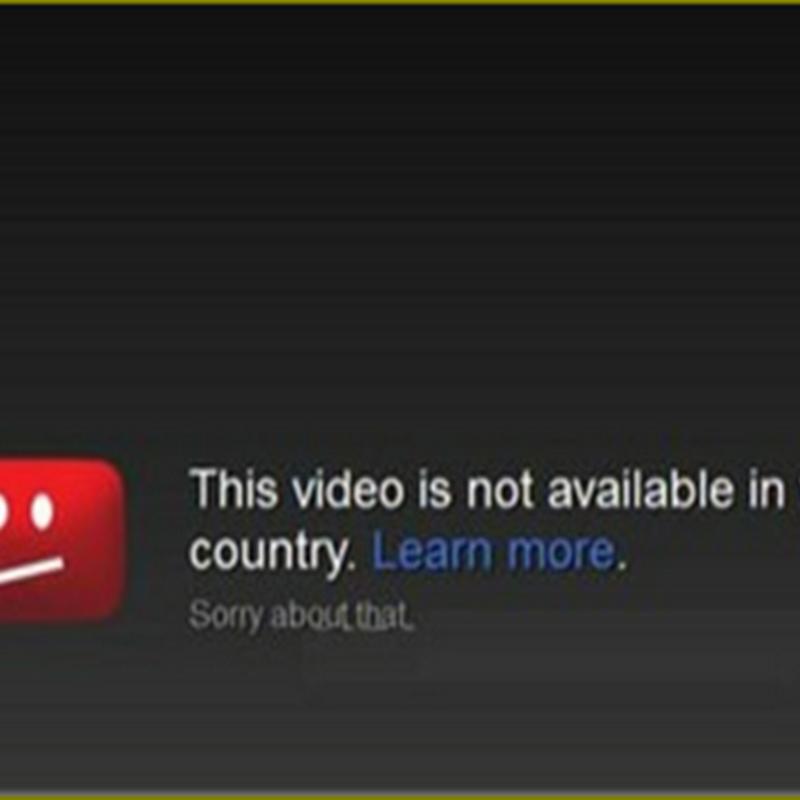 ดูวีดีโอที่มีการปิดกั้นเนื้อหาใน Youtube ด้วย unblocker