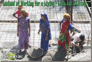 MayaH - Instead of Working for a Living - Live for a Living (Small)