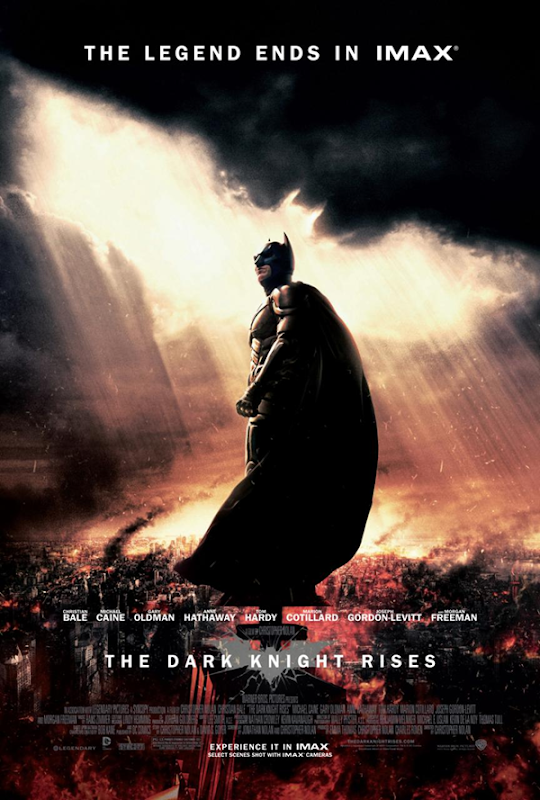 Les plus belles affiches du film Dark Knight Rises