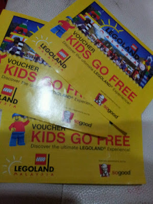 tiket free ke legoland
