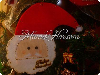 Carita de Papá Noel