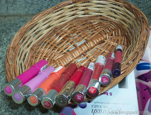 Lip Crayon obsession, My collection