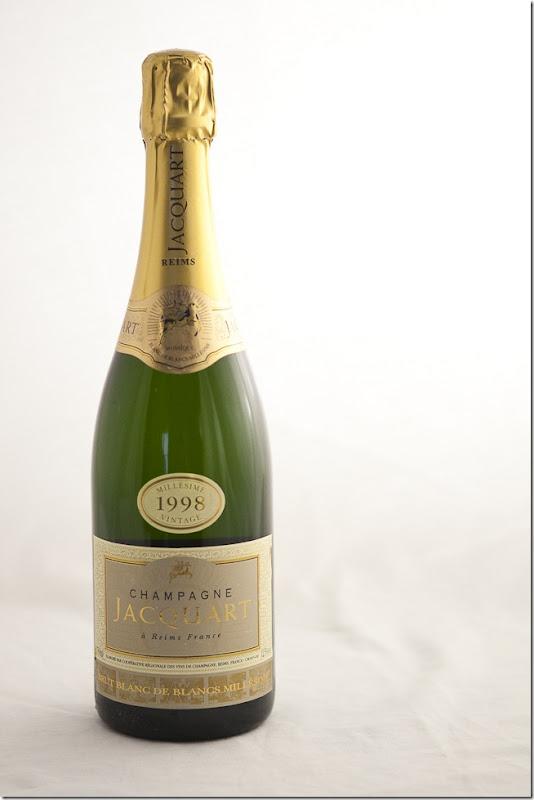 1998 Jacquart Blanc de Blanc Brut Champagne
