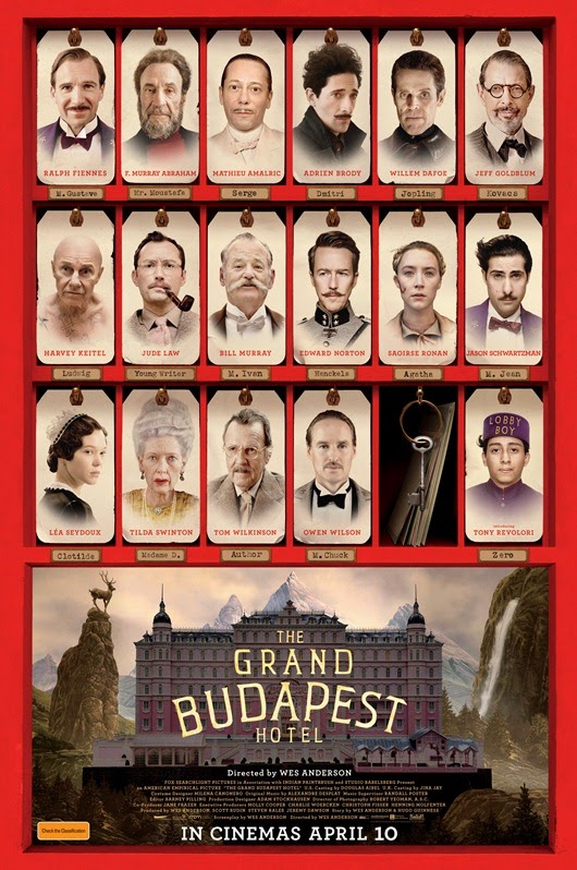 The Grand Budapest Hotel Cast