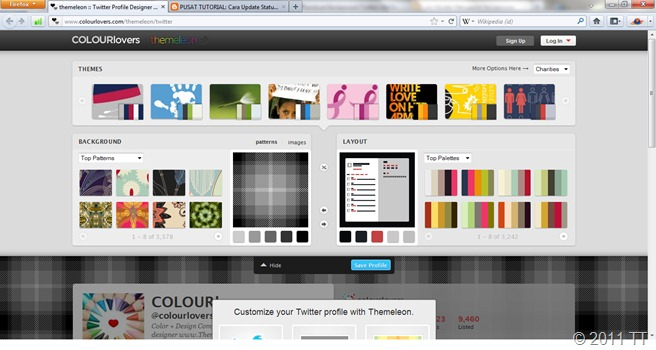 Homepage Themeleon