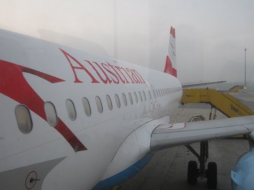 Vienna to Zurich, my first flight with Austrian