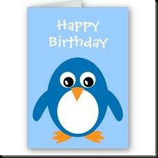 Happy birthday Penguin from Google images