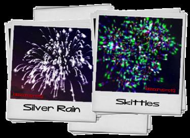 Silver Rain e Skittles (Firework Pack I do MJay) lassoares-rct3