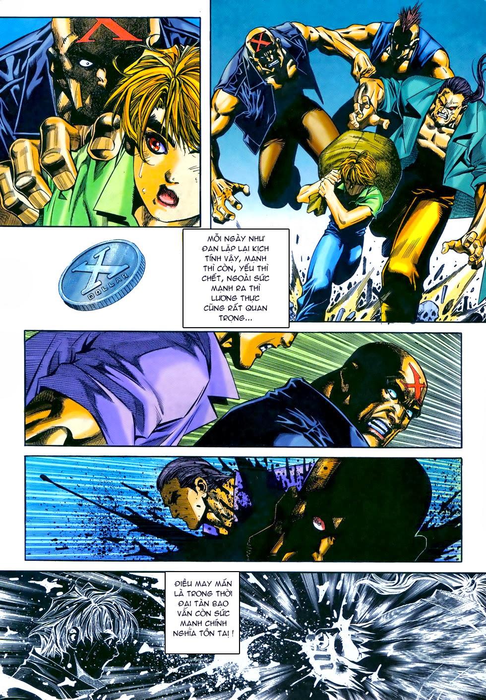 X Bạo Tộc chap 69 - Trang 27
