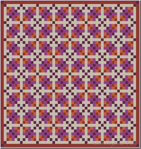 8 King Quilt - Colors (102 x 102)