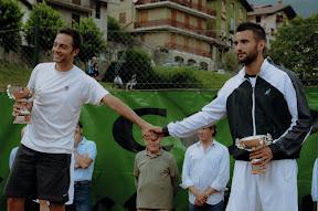 Coppa Ernesto della Torre 2012: a sinistra il vincitore Marco Pedrini, a destra il finalista Mauro Bosio