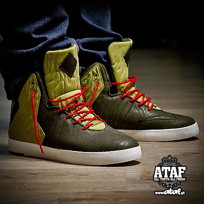 nike lebron 11 nsw sportswear lifestyle olive 3 01 A Look at Nike LeBron XI NSW Lifestyle King of Miami