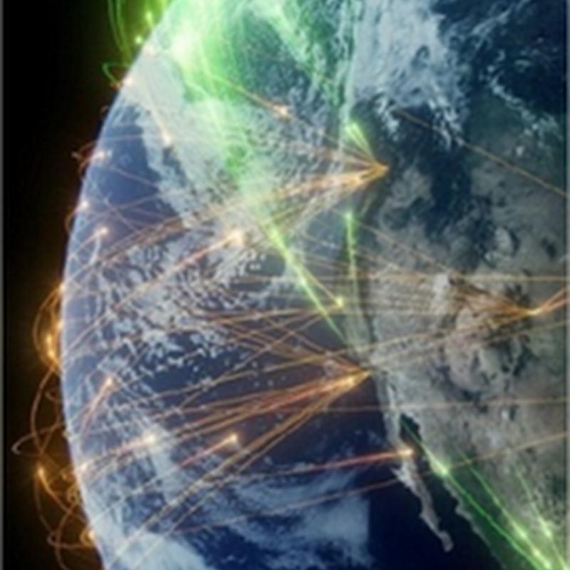 Hermosas visualizaciones de datos aéreas
