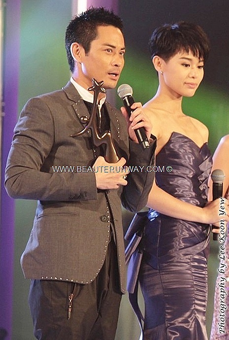 Starhub TVB Awards 2012 Kevin Cheng Ka Wing Myolie Wu Hang Yee Ghetto Justice 2 My Favourite TVB Actor TV Character Ip Man drama Singapore Media Favourite drama Marina Bay Sands Ballroom Hotel
