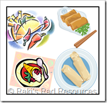 Ethnic Foods during home visits to ESL students