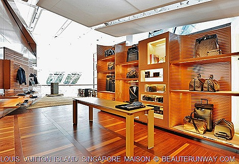 Louis Vuitton Island Singapore Travel Room Trunks Lugguage Bags and Accessories