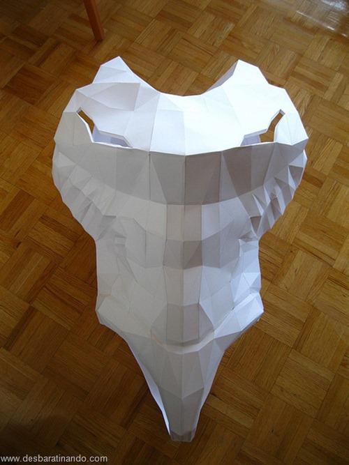 armadura metroid samus papercraft papel desbaratinando  (4)