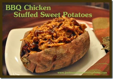 BBQ Chicken Stuffed Sweet Potatoes (2)