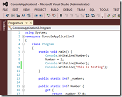 RedEditorVisualStudio2012