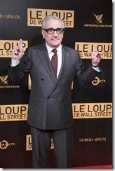 """Martin Scorcese <br />Avant première mondiale du """"Loup de Wall-Street"""" au cinema Gaumont Opéra à Paris le 9 décembre 2013"""