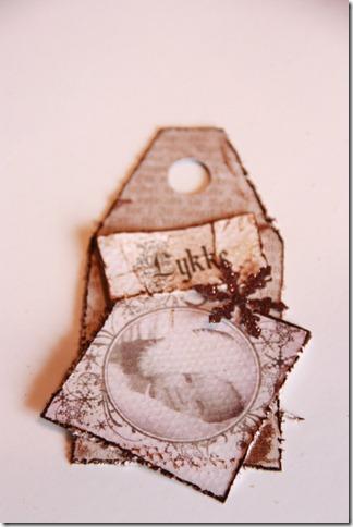 håndlagede merkelapper jul julegaver diy vintage IMG_5572