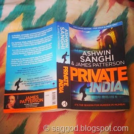 Private India book cover (James Patterson & Ashwin Sanghi)
