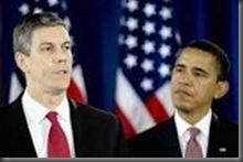 arne duncan, barack obama, black politics, african american politics, no child left behind