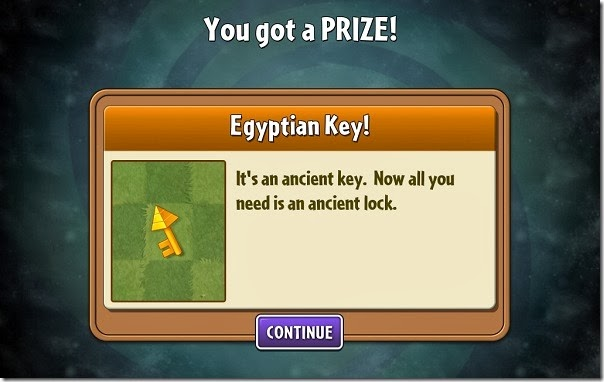 Plants vs Zombies 2 Keys