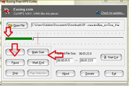 สื่อ audio file