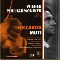 CD-Muti-Wiener Mozart 40 Prokofiev Schubert