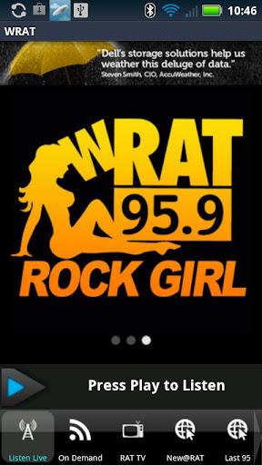 WRAT 95.9 The Rat Player