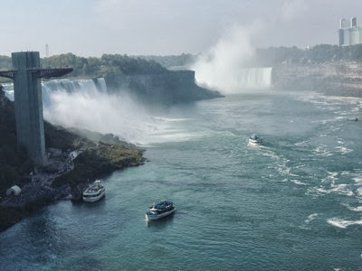 falls and tour boats