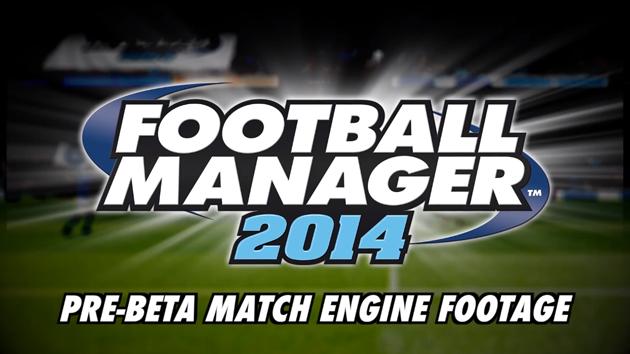 FM14 Pre-Beta Match Engine Footage