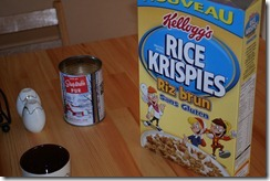 brown rice krispies!