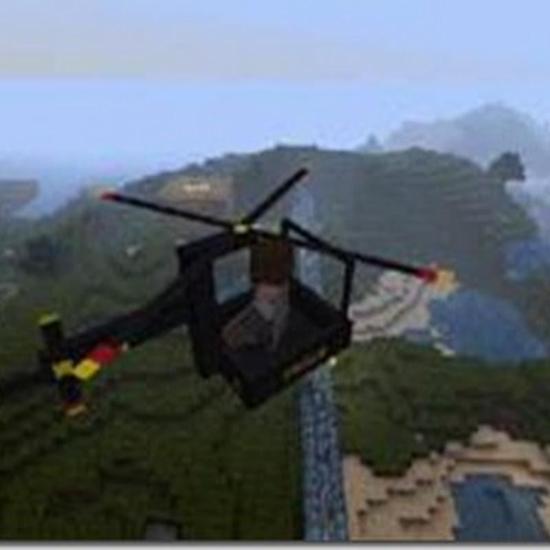 Minecraft 1.2.5 - THX Helicopter Mod