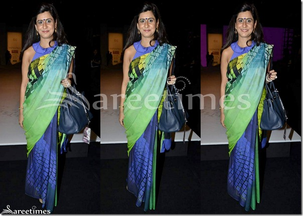 Green_Blue_Half_and_Half_Saree