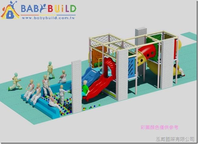 BabyBuild 室內兒童遊戲空間規劃設計彩圖