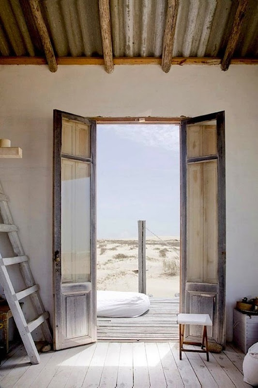 700 uruguay beach house front door